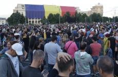 Inquam protest guvern oameni