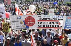 Viena Austria proteste