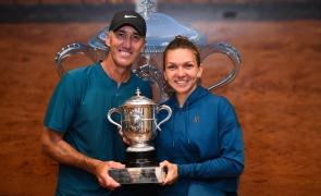 Darren Cahill Simona Halep Roland Garros cahill halep cahill