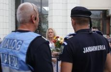 miting sustinere jandarmerie