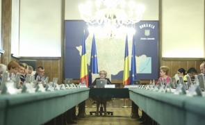 Inquam Viorica Dăncilă sedinta guvern