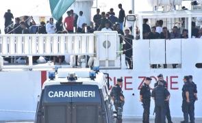 Diciotti imigranti italia