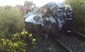 accident tren timis