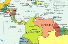 venezuela columbia guyana suriname ecuador panama salvador