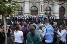 Inquam protest magistrați