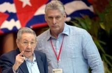 Miguel Diaz canel Raul Castro