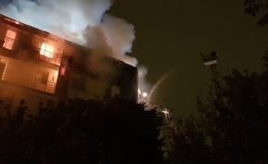 incendiu bloc sector 5