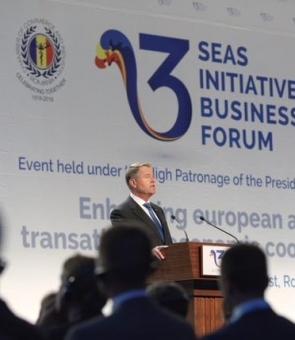 Inquam Klaus Iohannis Inițiativa celor Trei Mări