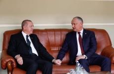 Igor Dodon Recep Tayyip Erdogan