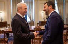 Liviu Dragnea Matteo Salvini
