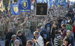 Ucraina nationalisti manifestatie