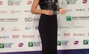 Simona Halep rochie