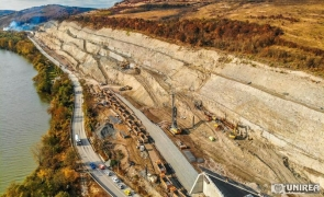 A1 Lugoj Deva Alunecare de teren