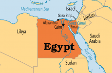 Egipt harta