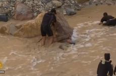 Iordania, inundații