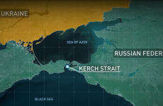 strantoarea kerci ucraina crimeea rusia marea azov