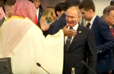 Vladimir Putin, print arabia saudita