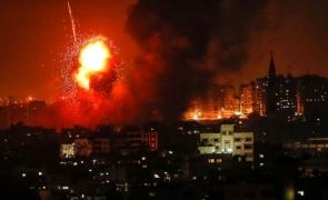 gaza rachete explozii israel