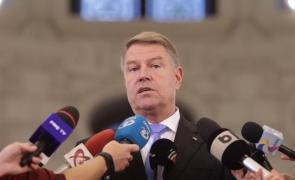 Inquam Klaus Iohannis presa