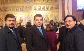 Rebega, Daniel Constantin, Catedrala