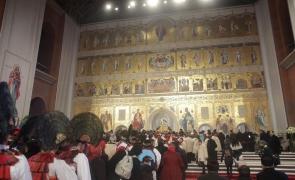 interior Catedrala Mântuirii Neamului