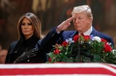 Donald Trump/ înmormântare