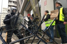 proteste bruxelles veste galbene