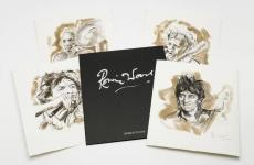 Ronnie Wood, desene, portofoliu