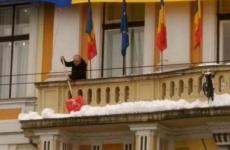 Emil Boc, zăpadă