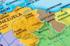 venezuela guyana suriname