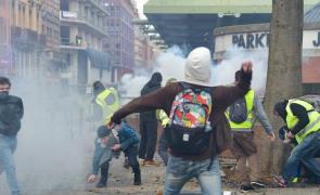 Franta violente