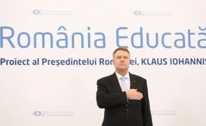 Inquam Klaus Iohannis România Educată