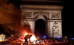 Franta proteste