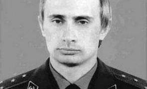 Vladimir Putin, tânăr ofițer KGB.
