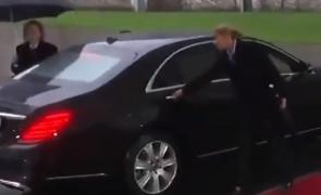 Theresa May, mașină