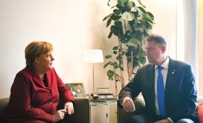 Klaus Iohannis Angela Merkel iohannis merkel iohannis