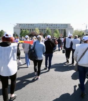 protest sanatate guvern