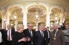 Viorica Dăncilă Jean Claud Juncker dăncila juncker dăncilă
