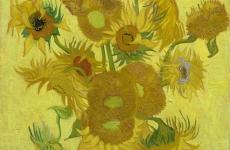 Floarea soarelui, de Vincent Van Gogh 2