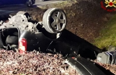 Accident rutier Italia, români