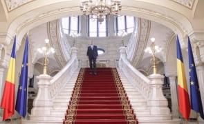 Inquam Klaus Iohannis scări Cotroceni