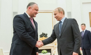 Igor Dodon Vladimir Putin Dodon Putin