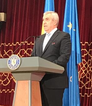 Călin popescu Tăriceanu / calin popescu tariceanu, Consiliul UE, ceremonie (1)