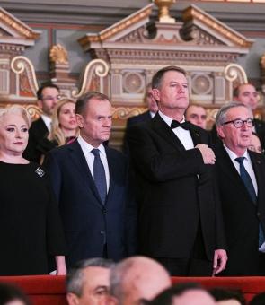 Klaus Iohannis Viorica Dăncilă patriarh iohannis ateneu