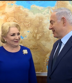 dancila-netanyahu-israel