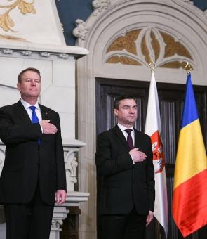 Klaus Iohannis Mihai Chirica Iohannis