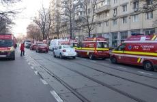 Incendiu bloc Capitala
