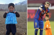 Messi, poza, copil