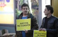 Inquam Mihai Călin protest