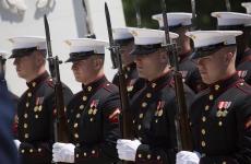 US Marine Corps militari sua